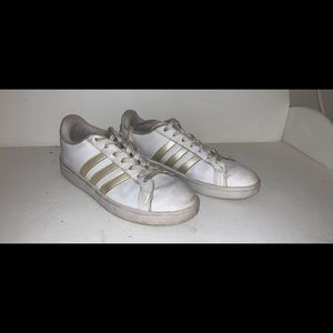 adidas iridescent sneakers size 9